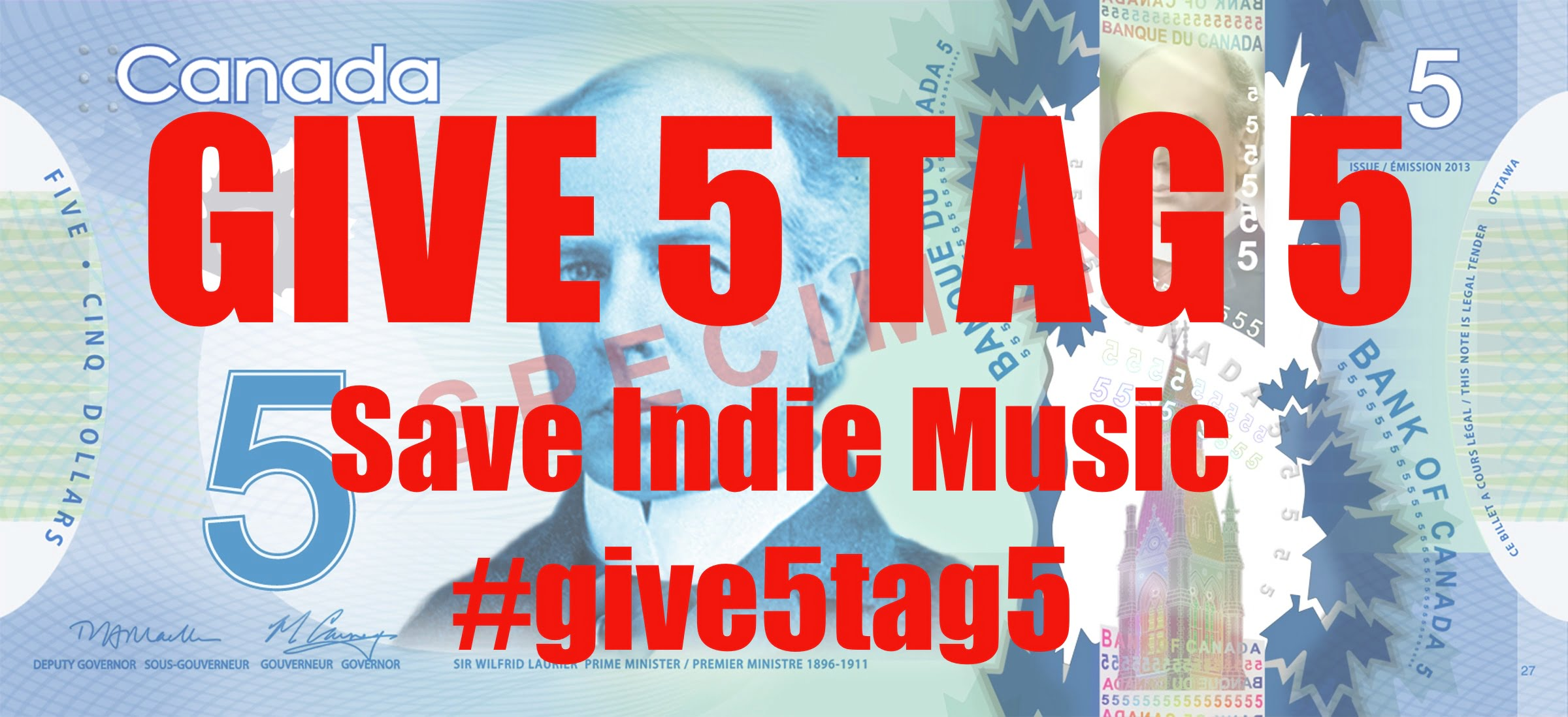 Give 5 Tag 5 – Helping Local Musicians